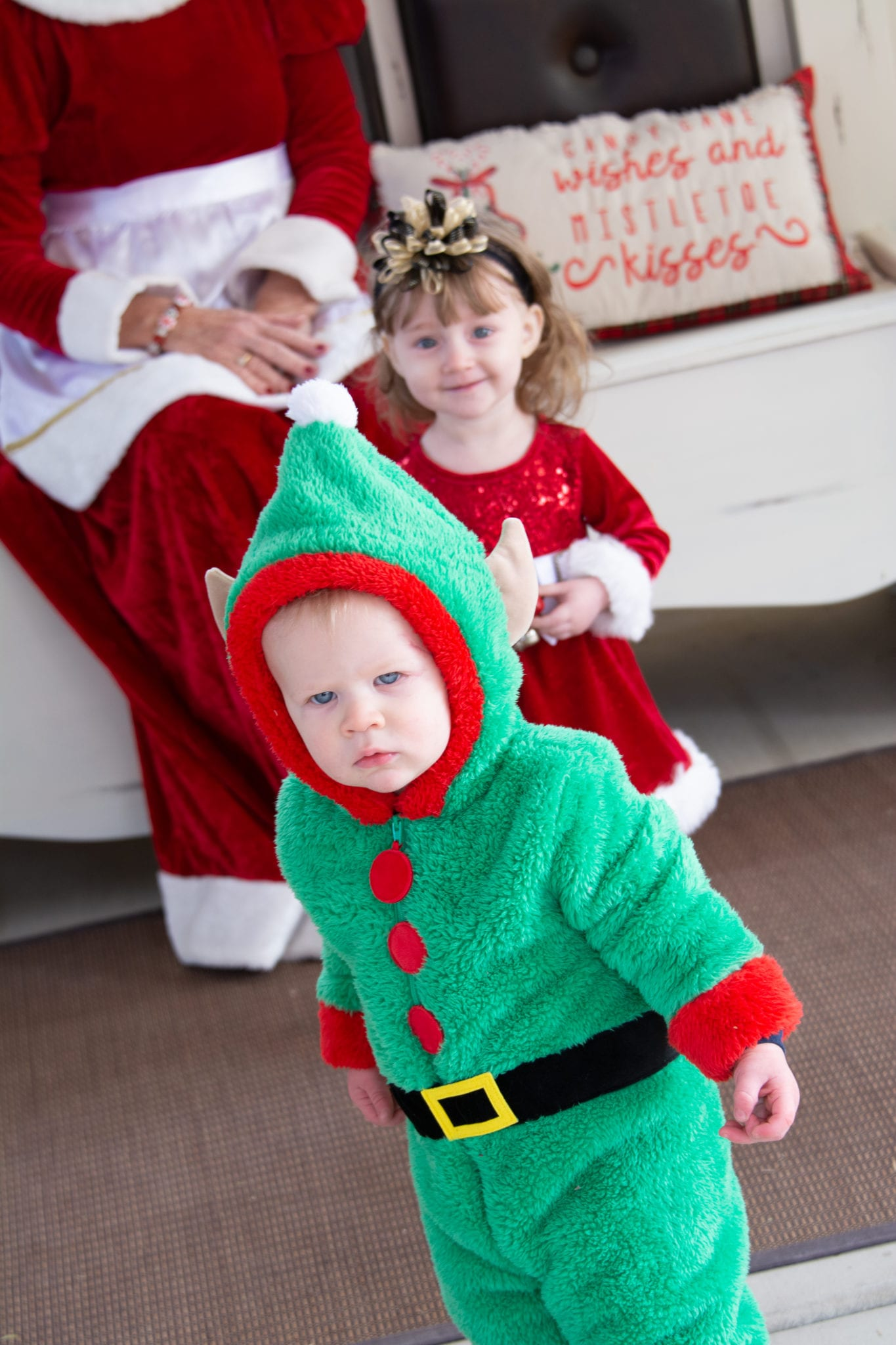 Mrs. Clause photo session by KC Photography at the Gilbert Gazebo