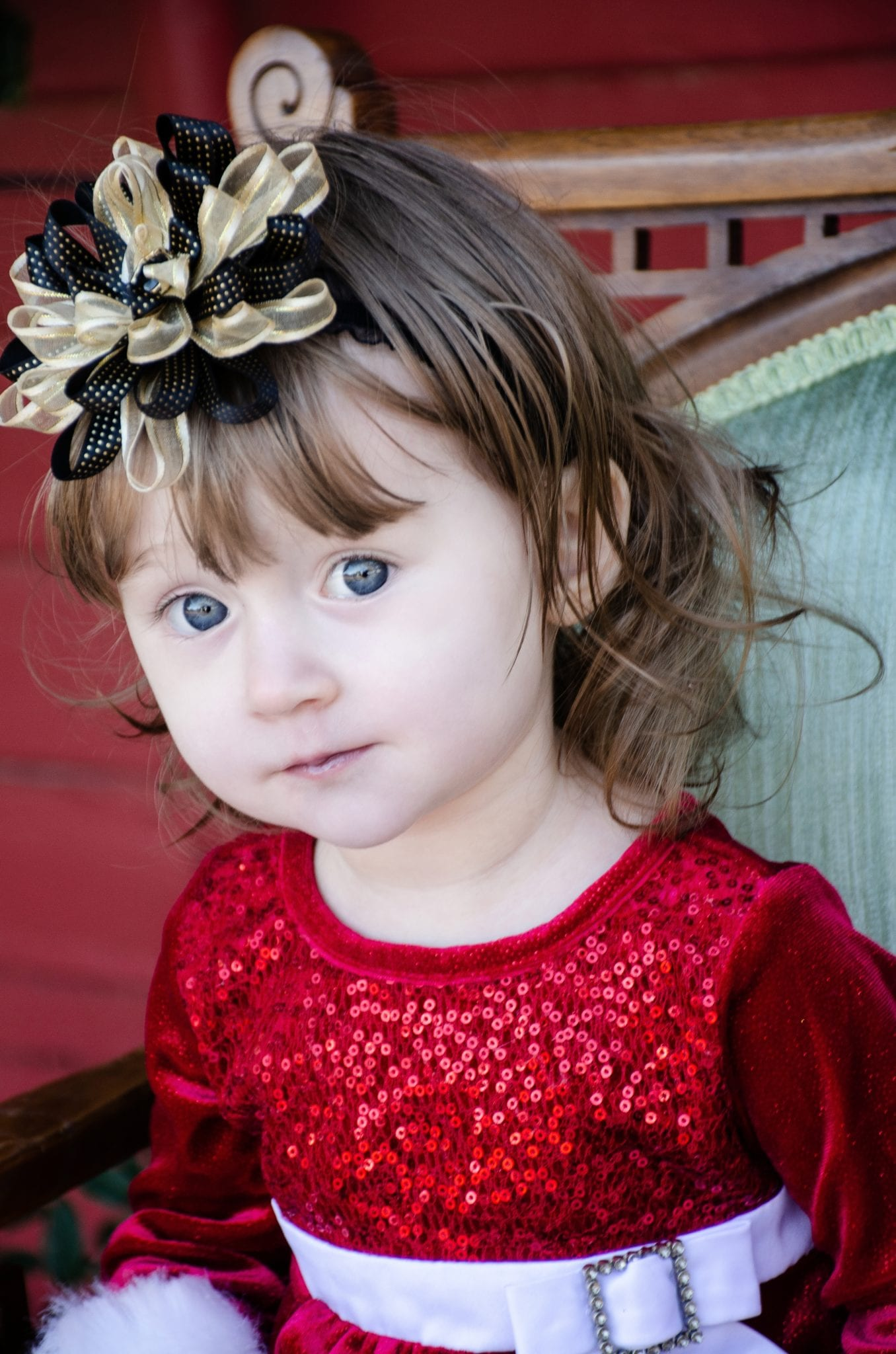 Holiday portrait by KC Photography at the Gilbert Gazebo