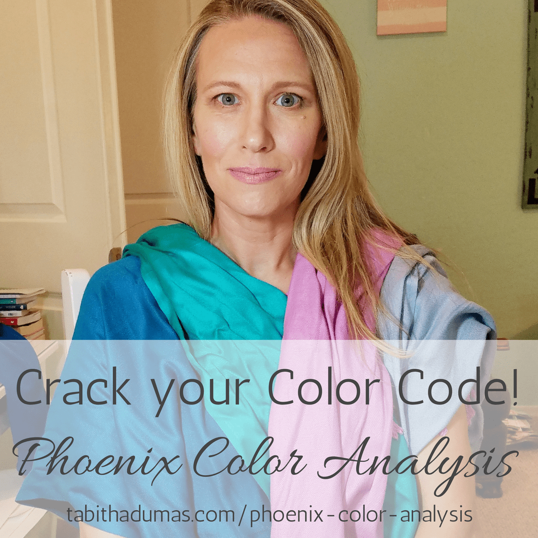 Crack your Color Code! Phoenix Color Analysis. Find out your Color Code, your best colors and your best neutrals. Tabitha Dumas image consultant tabithadumas.com