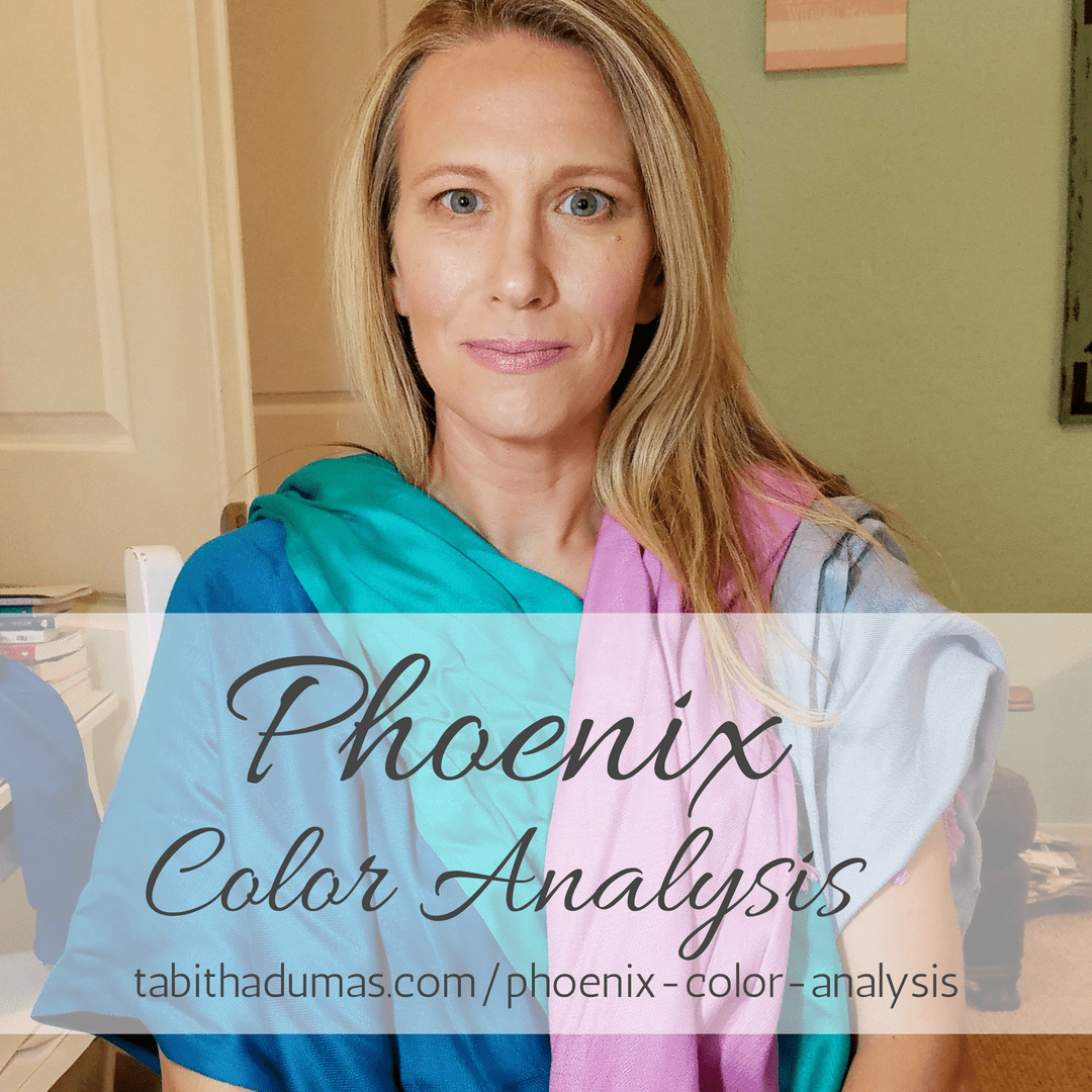 Phoenix Color Analysis. Find out your Color Code, your best colors and your best neutrals. Tabitha Dumas image consultant tabithadumas.com