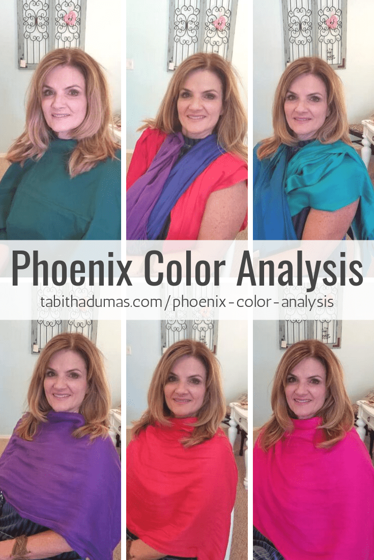 Phoenix Color Analysis by Tabitha Dumas Image Consultant color draping, color typing, color code chandler gilbert