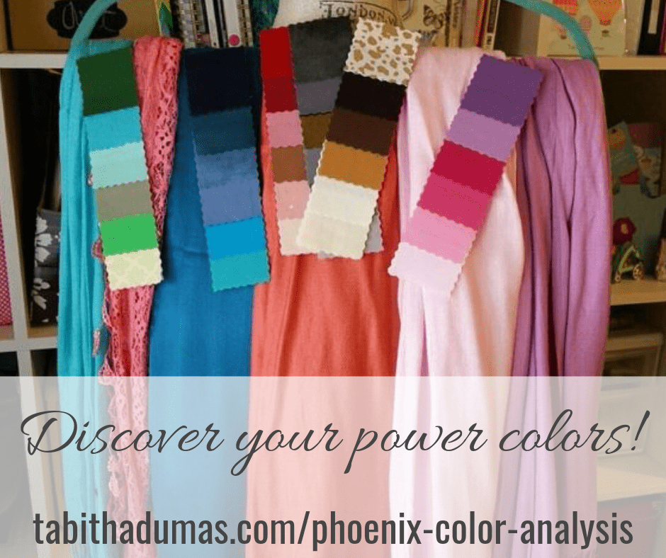 Discover your power colors! Phoenix Color Analysis tabithadumas.com_phoenix-color-analysis