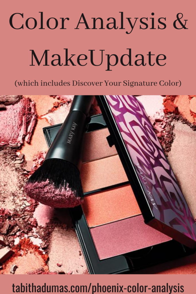 Phoenix Color Analysis and MakeUpdate with Tabitha Dumas Signature Color Style