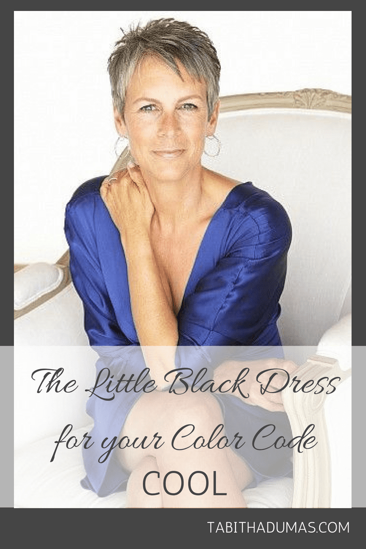 The Little Black Dress for your Color Code COOL - Tabitha Dumas Phoenix Image Consultant