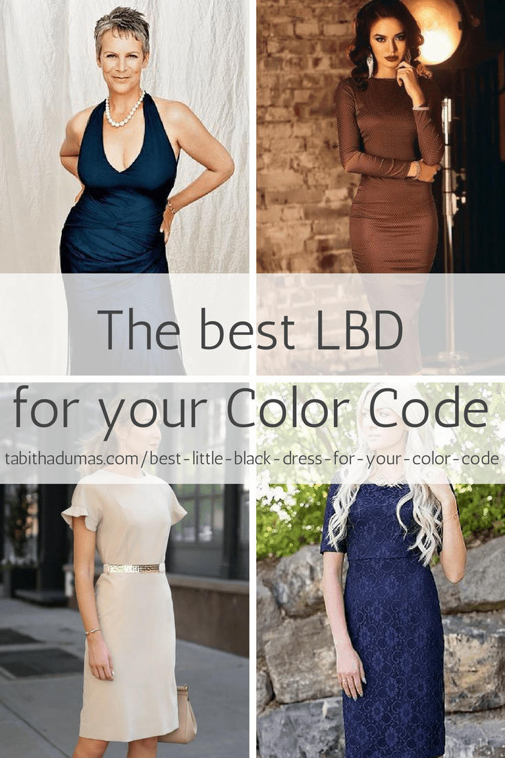 The best LBD for your Color Code. Tabitha Dumas Phoenix color analysis Phoenix image consultant