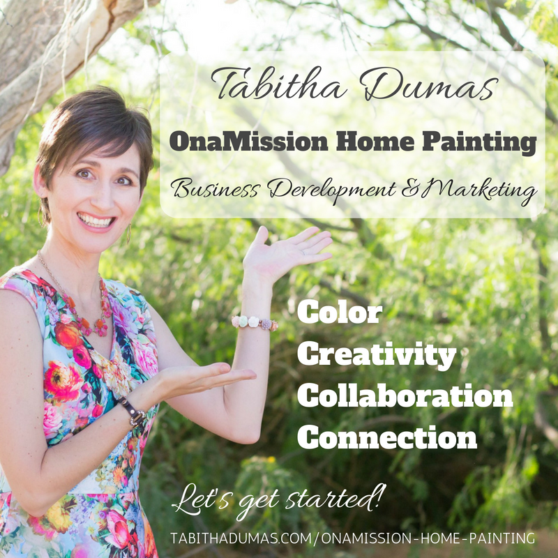 OnaMission Home PaintingBusiness Development & Marketing Tabitha Dumas The Color Picker