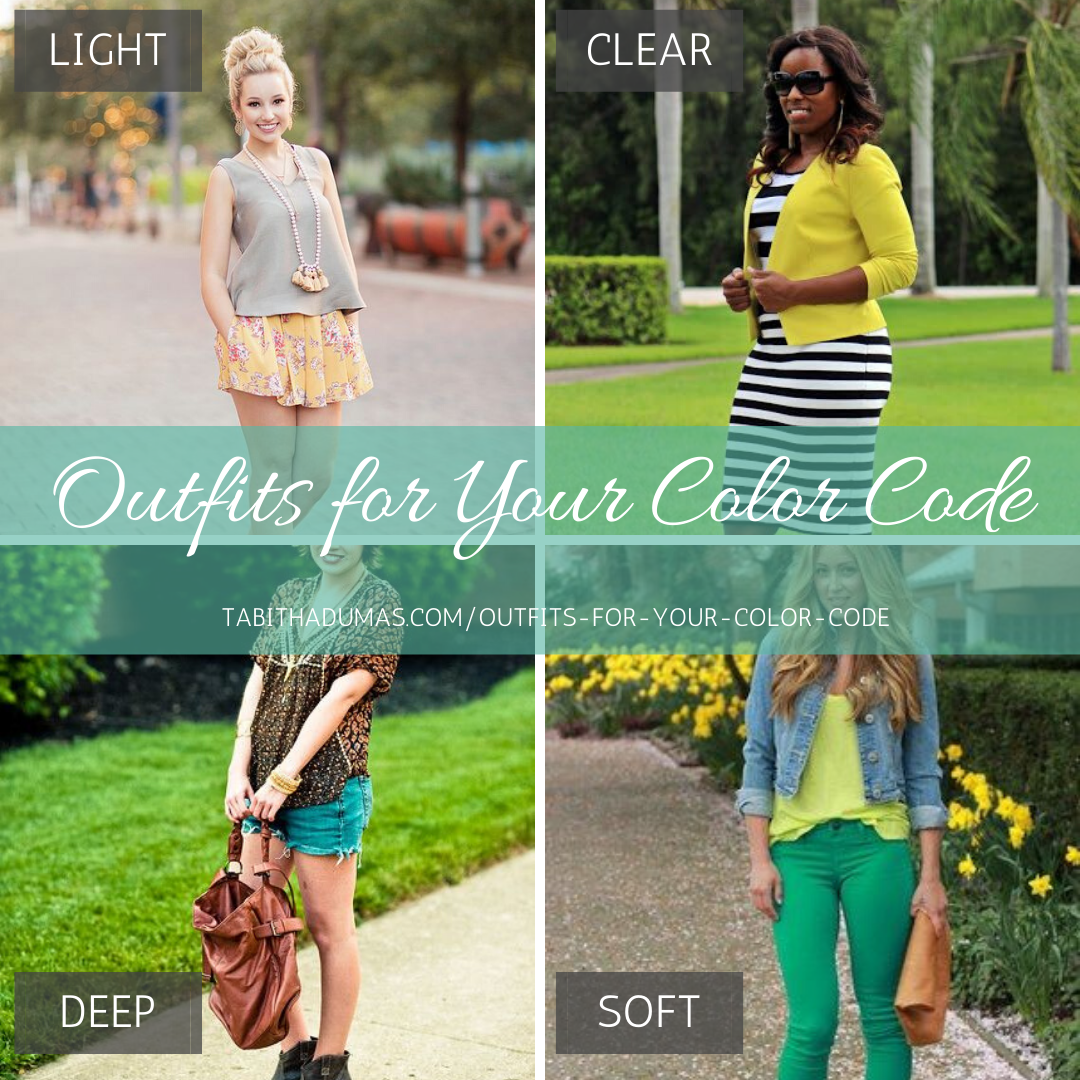 Outfits for Your Color Code
