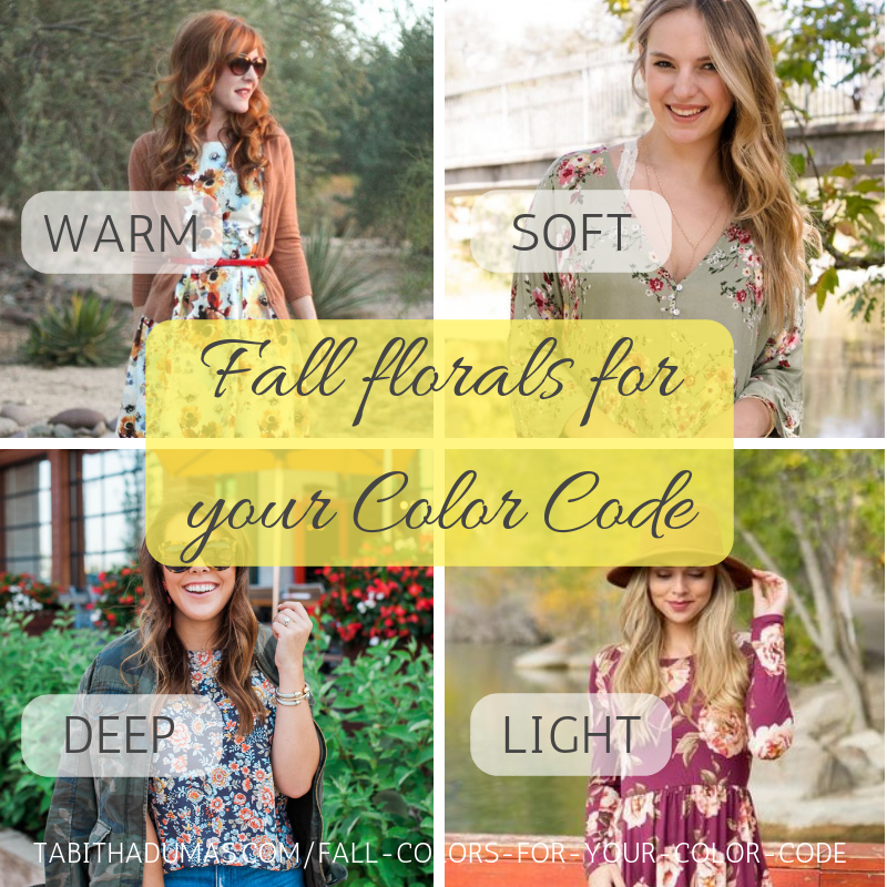 Fall florals for your Color Code. Tabitha Dumas Phoenix Image Consultant Discover Your Signature Color