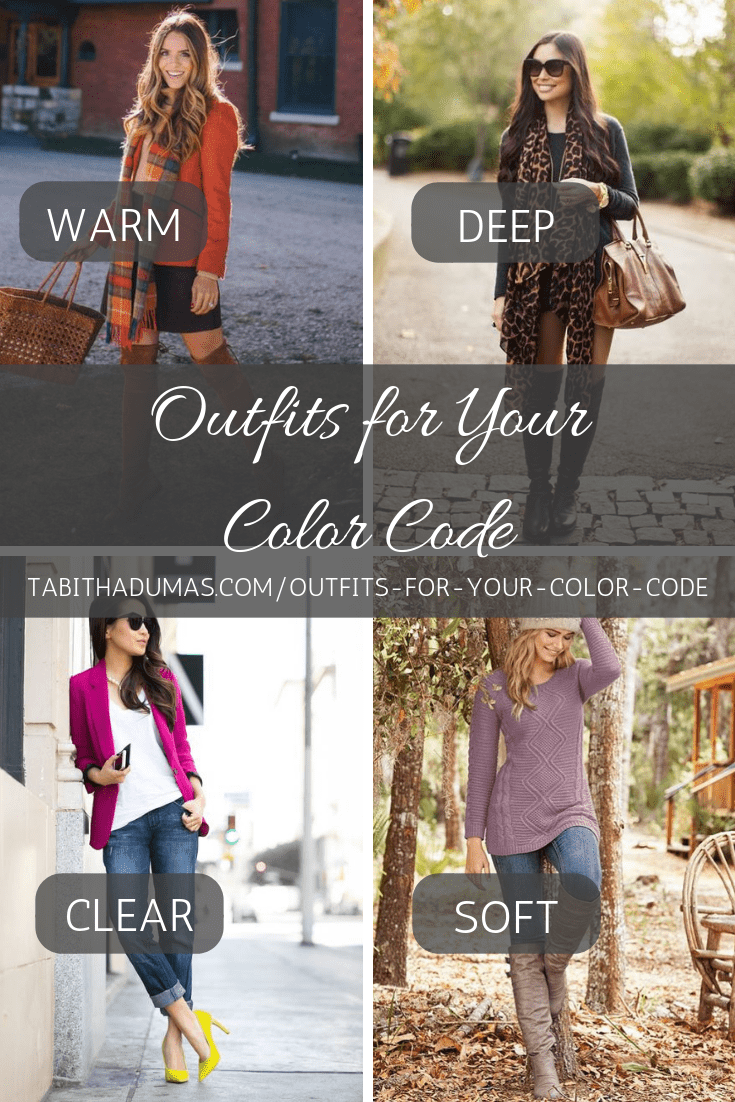 Outfits for Your Color Code. Tabitha Dumas Phoenix Image Consultant Phoenix color analysis Tabithadumas.com