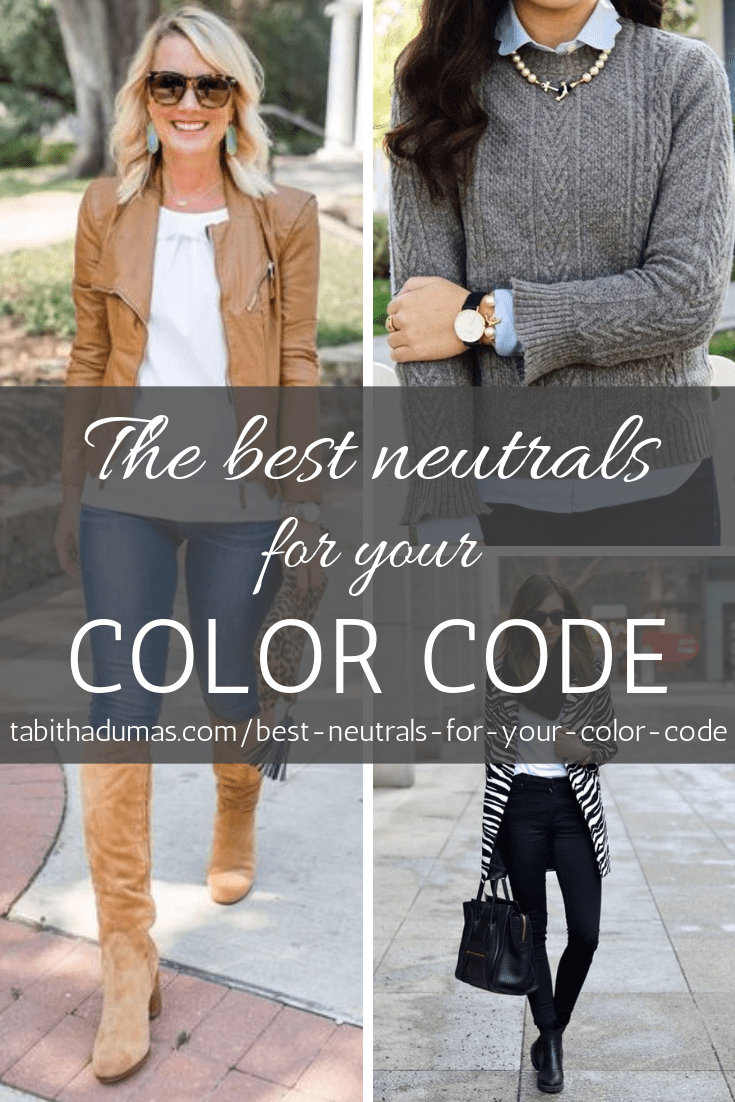 The best neutrals for your Color Code from Tabitha Dumas Phoenix Image Consultant Phoenix Color Analysis