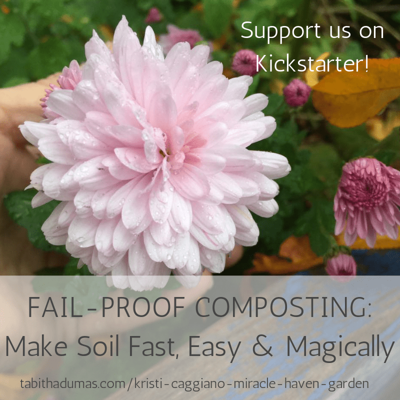 Kristi Caggiano Miracle Haven Garden FAIL-PROOF COMPOSTING Make Soil Fast, Easy & Magically