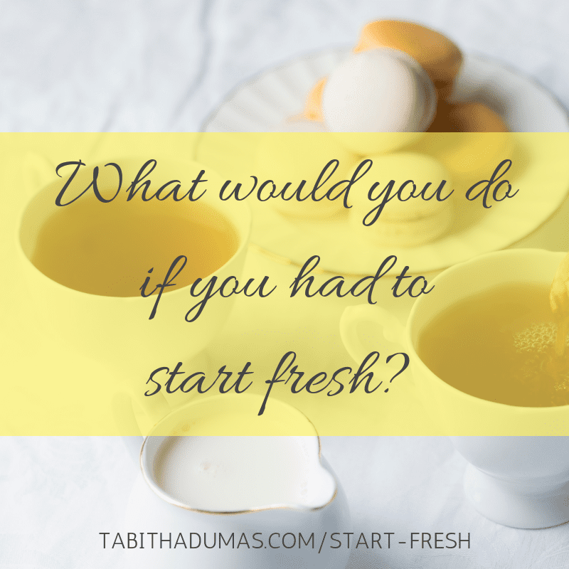 What happened when my website went down and I had to ask myself, what would I do if I had to start fresh? The beginning of a new year is a great time to explore what you really want to do! Tabitha Dumas Phoenix image consultant