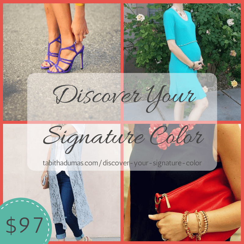 Discover Your Signature Color from Tabitha Dumas Phoenix Image Consultant Signature Color Style