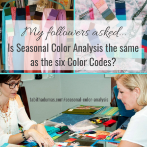 Seasonal Color Analysis and the Color Codes by Tabitha Dumas Phoenix Image Consultant