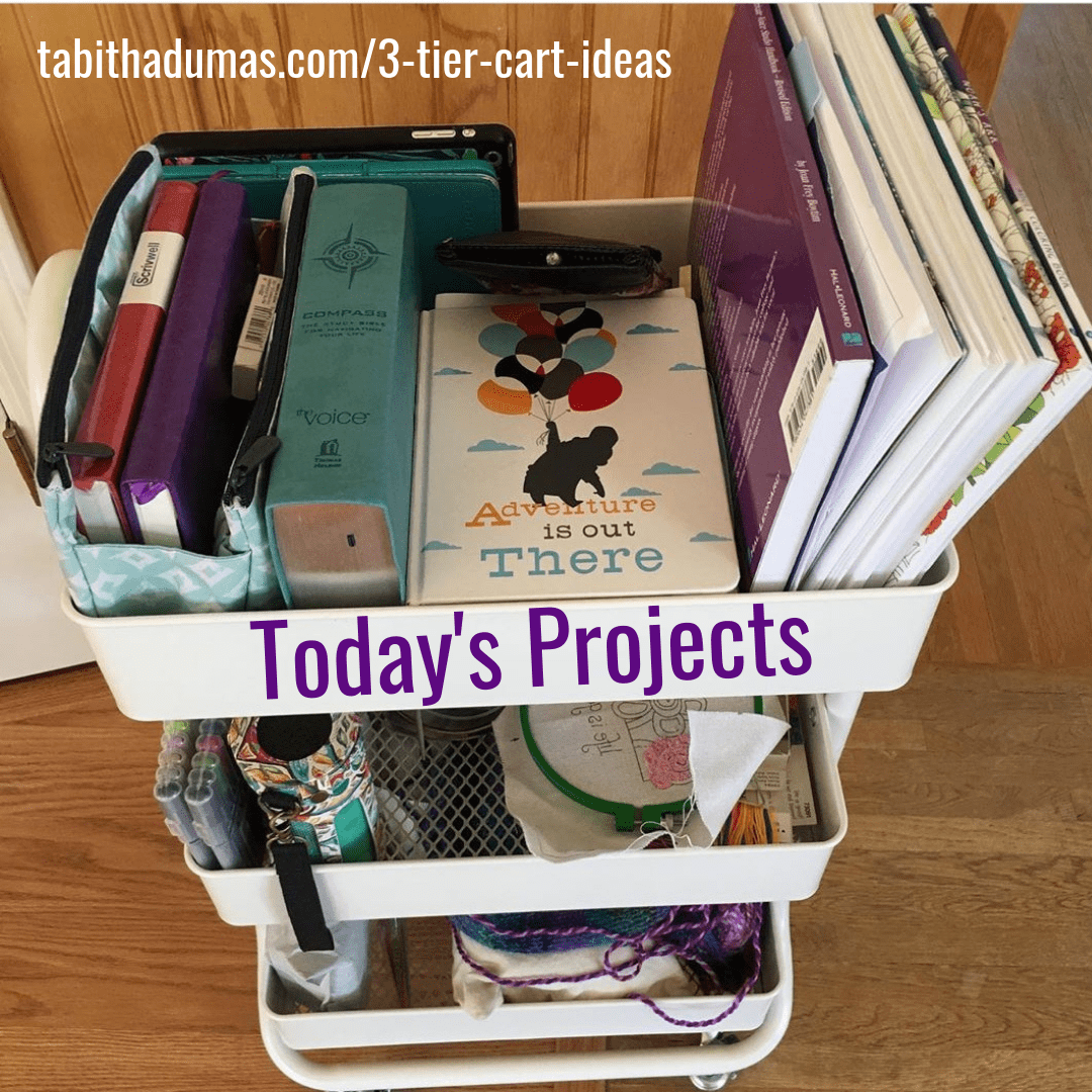 3-tier cart ideas to keep you organized