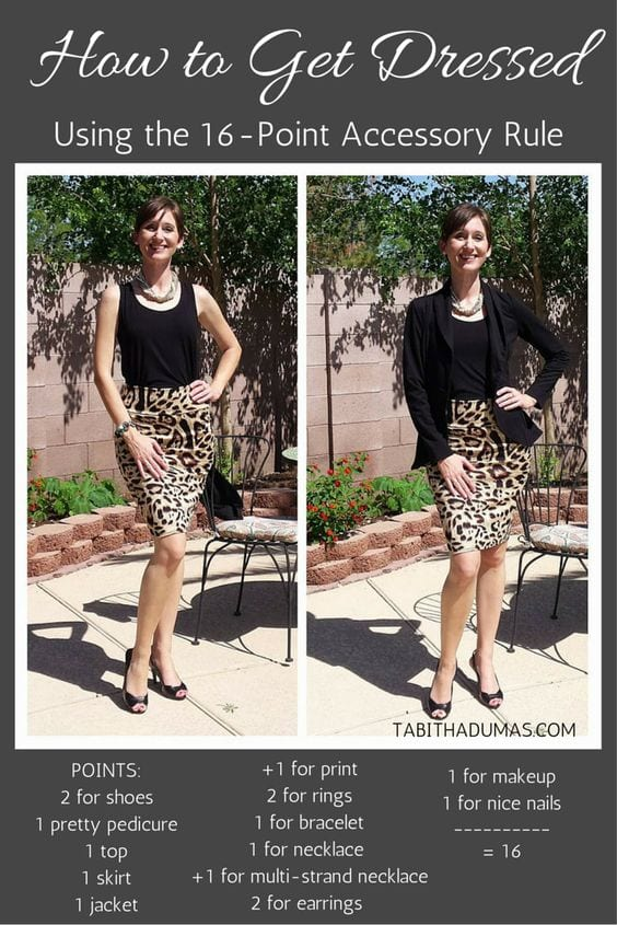 16 point accessory rule never be underdressed again tabitha dumas phoenix image consultant