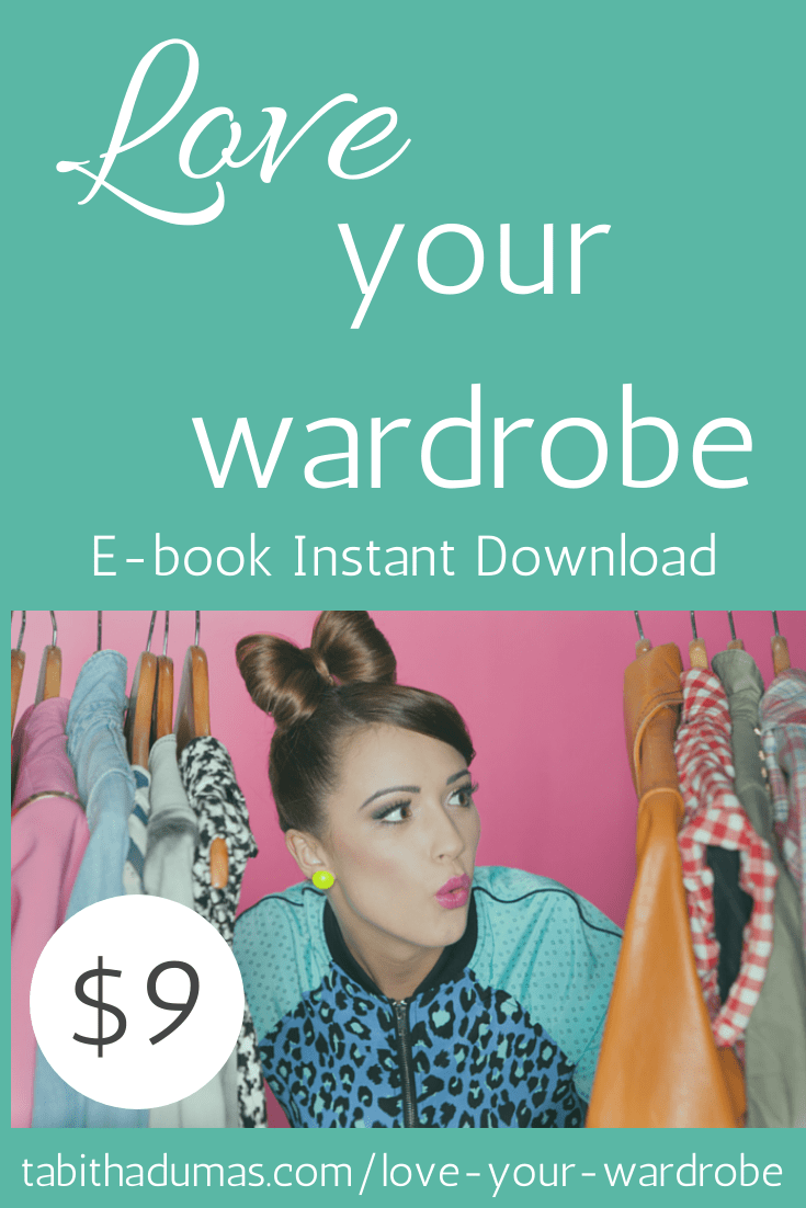 Love your wardrobe! ebook and email series Tabitha Dumas Phoenix Image Consultant