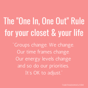 Your Closet & Your Life_ The _One In, One Out_ Rule
