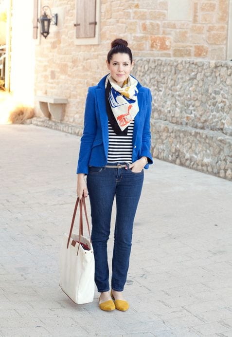 How to wear Classic Blue from Tabitha Dumas Phoenix Image Consultant Clear color Code