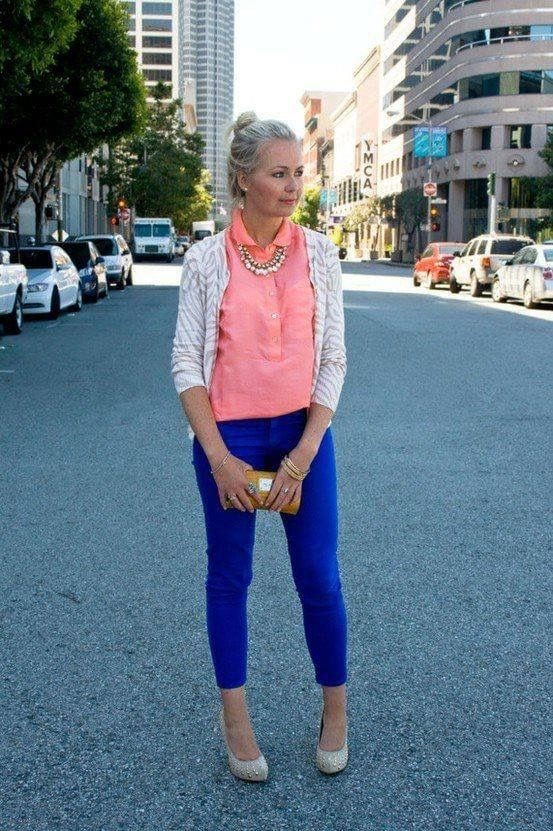 How to wear Classic Blue from Tabitha Dumas Phoenix Image Consultant Cool Color Code