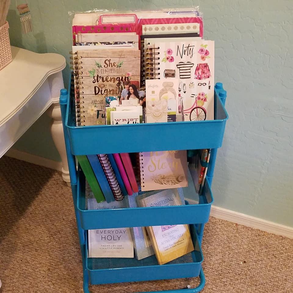 Tab's image studio home office craft room Tabitha Dumas Phoenix Color Analysis