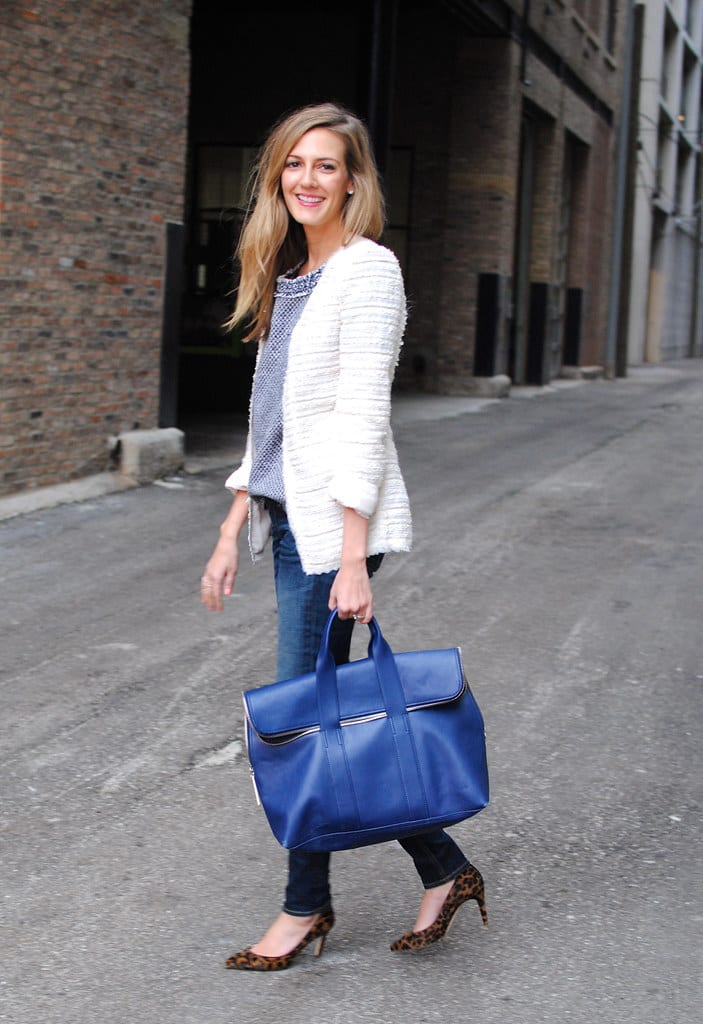How to wear Classic Blue from Tabitha Dumas Phoenix Image Consultant Classic Blue bag soft color code
