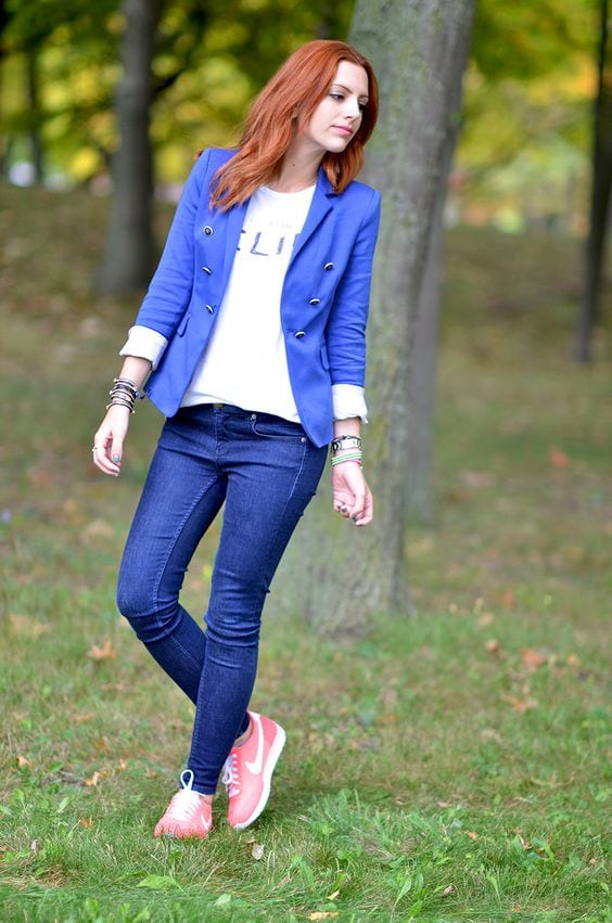 How to wear Classic Blue from Tabitha Dumas Phoenix Image Consultant Warm Color Code