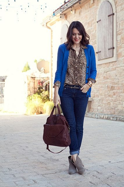 How to wear Classic Blue from Tabitha Dumas Phoenix Image Consultant Deep Color Code