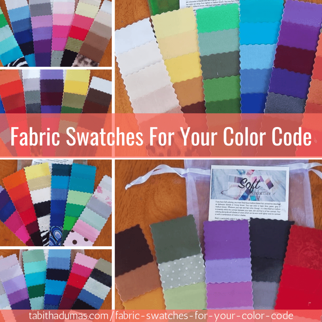 fabric swatches for your color code Tabitha Dumas Phoenix Image Consultant
