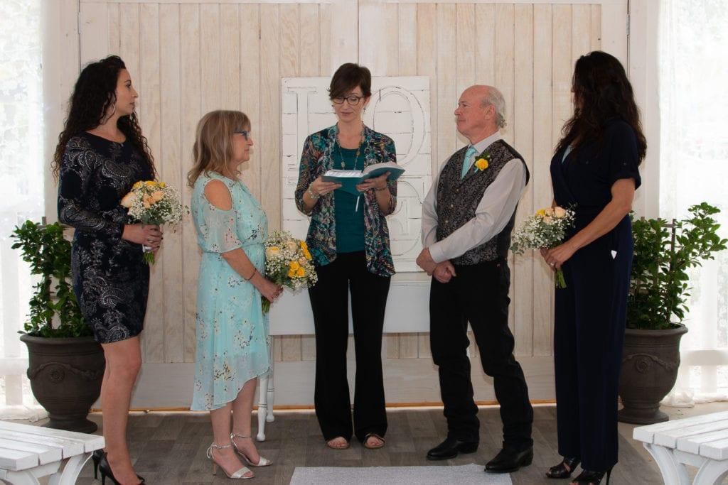 Chandler Gilbert wedding officiant Tabitha Dumas