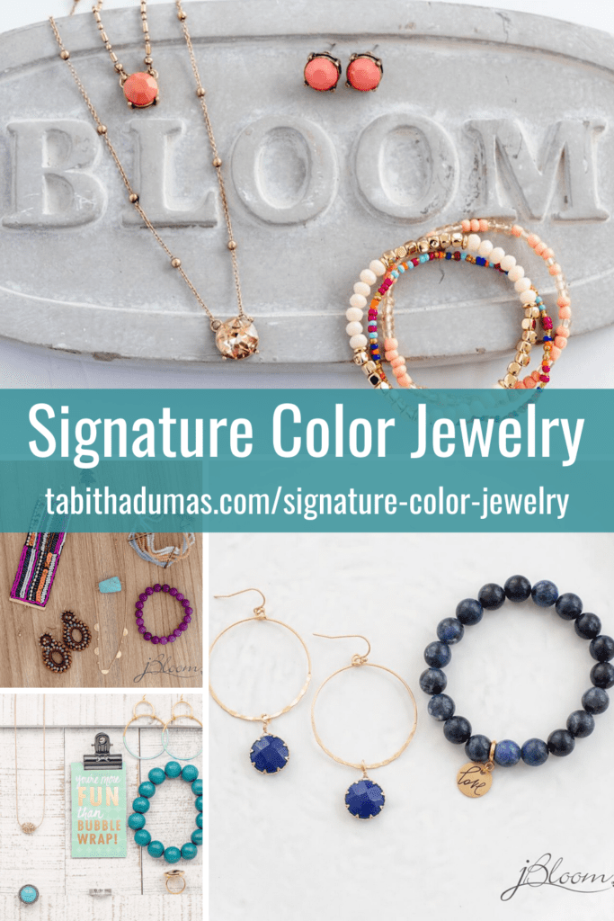 Signature Color Jewelry jbloom Tabitha Dumas Discover Your Signature Color