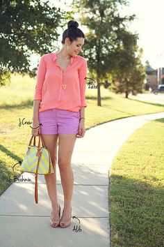 Mixing summer colors Tabitha Dumas Signature Color Style