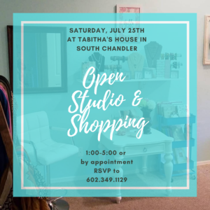 Open Studio Tabitha Dumas events mini boutique