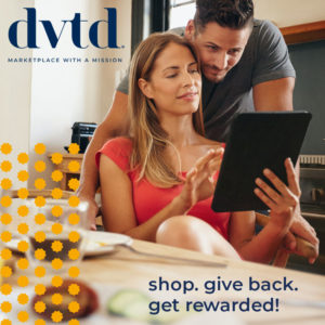 Shop, earn rewards, make a difference. Tabitha Dumas DVTD® affiliate
