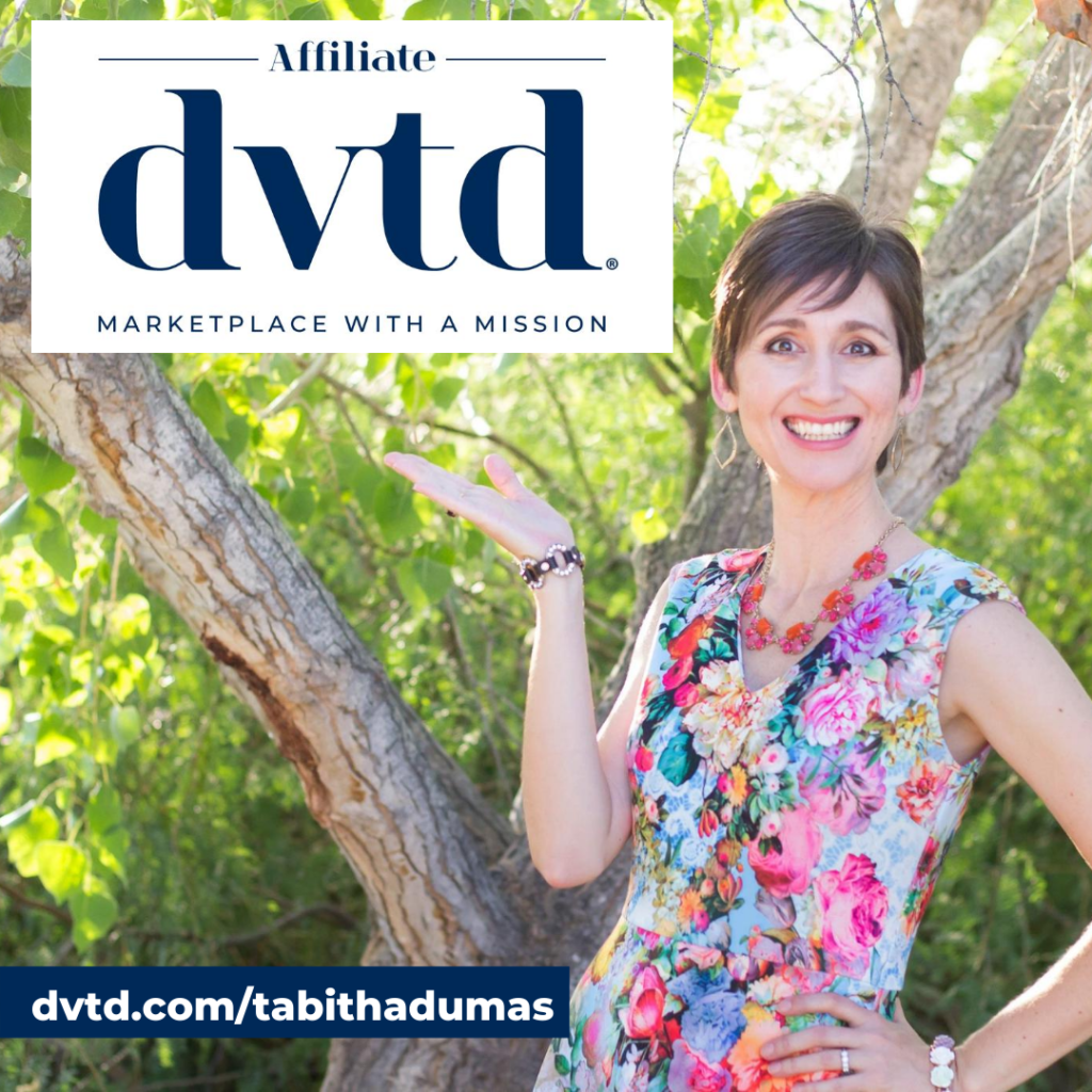 DVTD Marketplace with a Mission join me! Tabitha Dumas DVTD® Affiliate