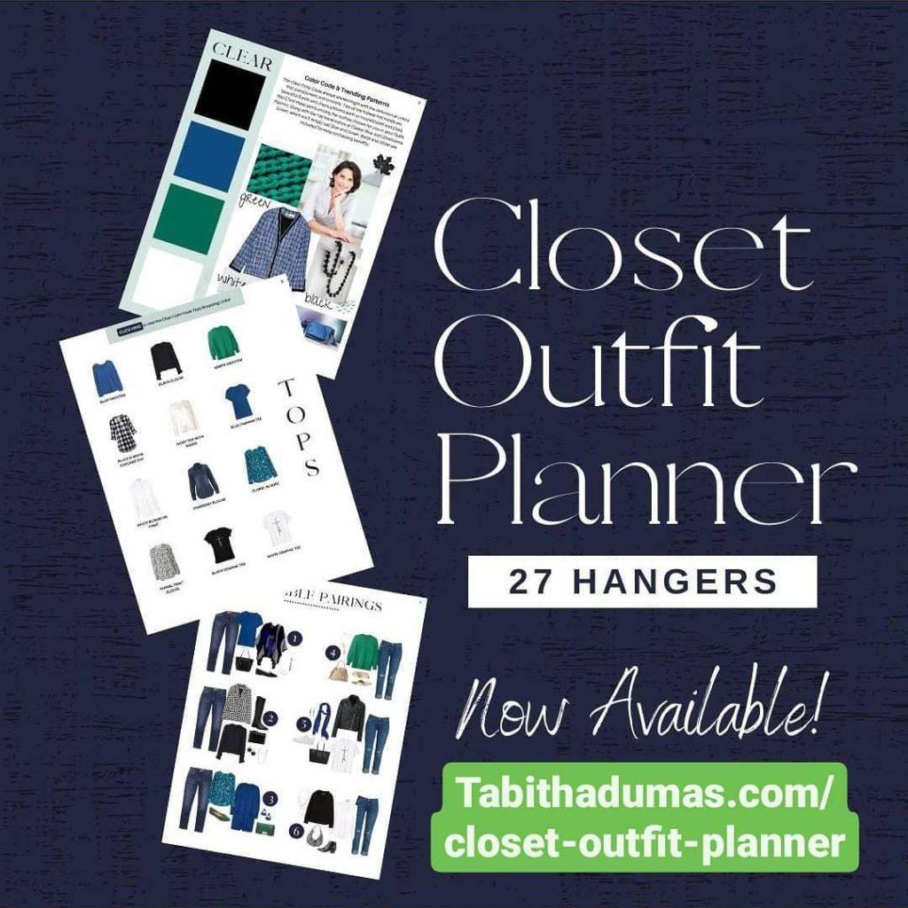 Closet Outfit Planner Tabitha Dumas Phoenix Image Consultant Signature Color Style