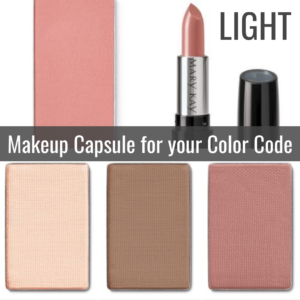 Makeup Capsule for your Color Code by Tabitha Dumas Signature Color Style light