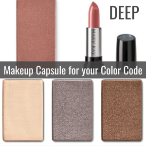 Makeup Capsule for your Color Code by Tabitha Dumas Signature Color Style DEEP