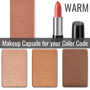 Makeup Capsule for your Color Code WARM