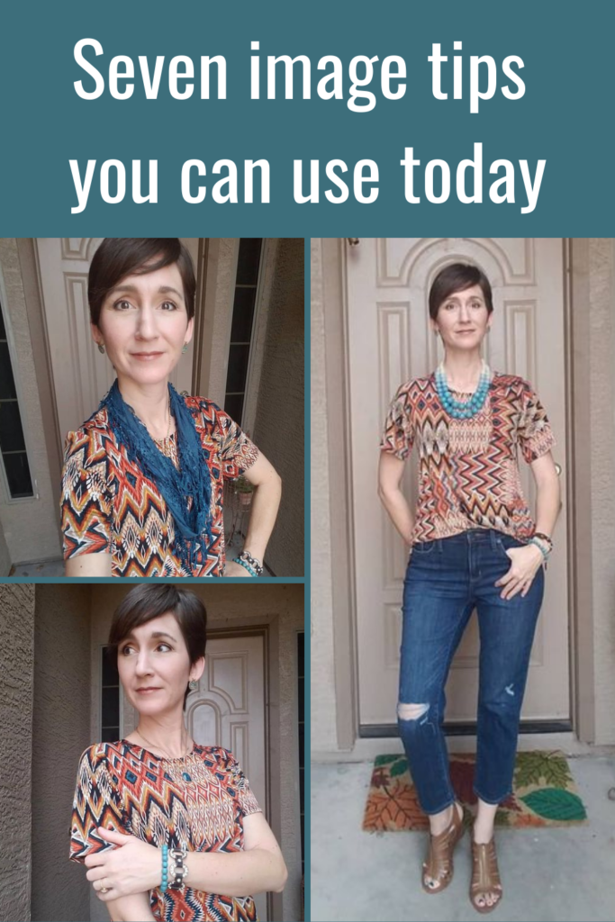 One top, seven image tips you can use today Tabitha Dumas Signature Color Style