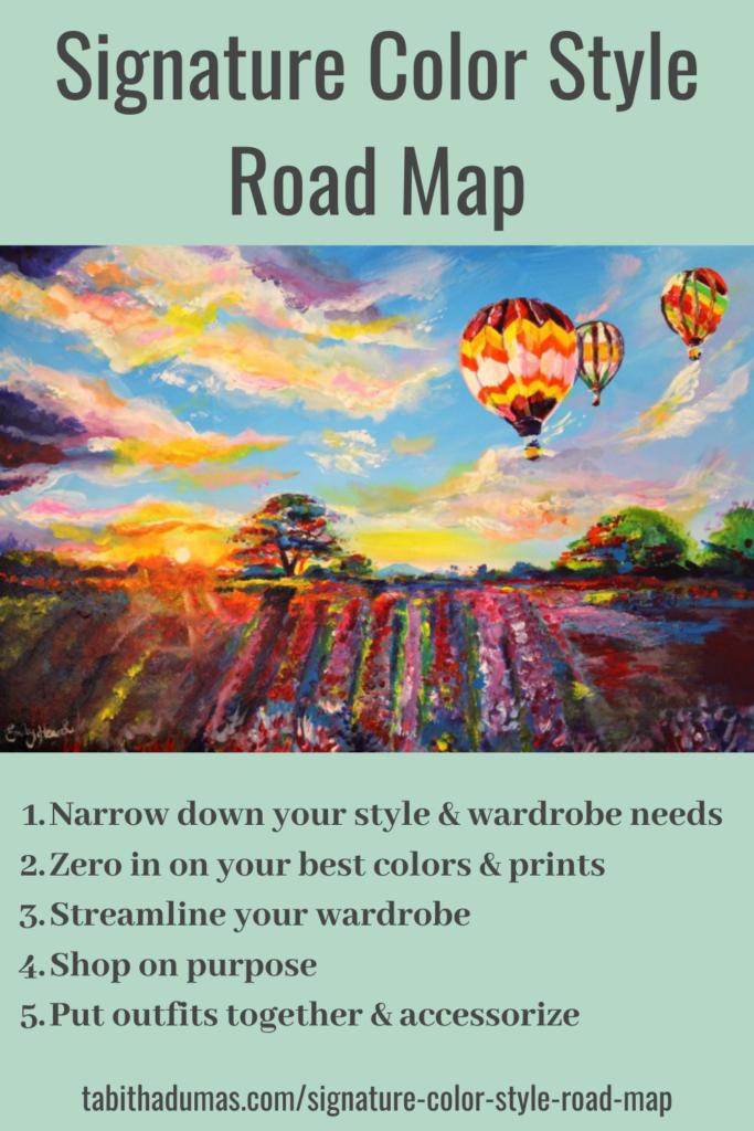 Signature Color Style Road Map Tabitha Dumas Signature Color Style