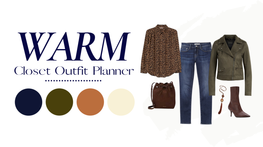 WARM Closet outfit planner Tabitha Dumas Signature Color Style