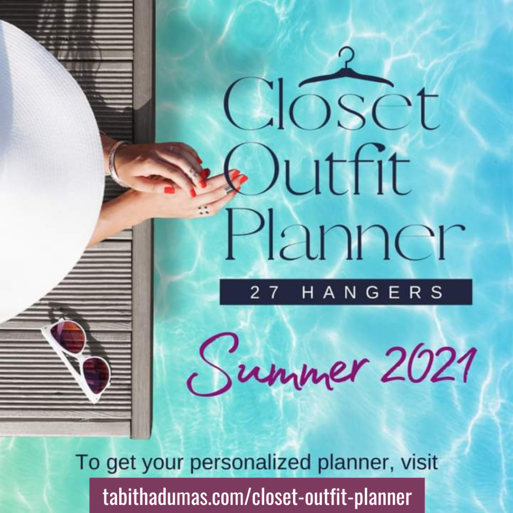 Closet Outfit Planner for summer Tabitha Dumas Phoenix Color Analysis image consultant