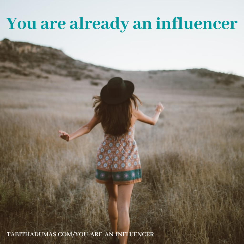You are an influencer by Tabitha Dumas Phoenix Image Consultant