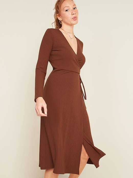 Little black dress can be brown for a warm color code