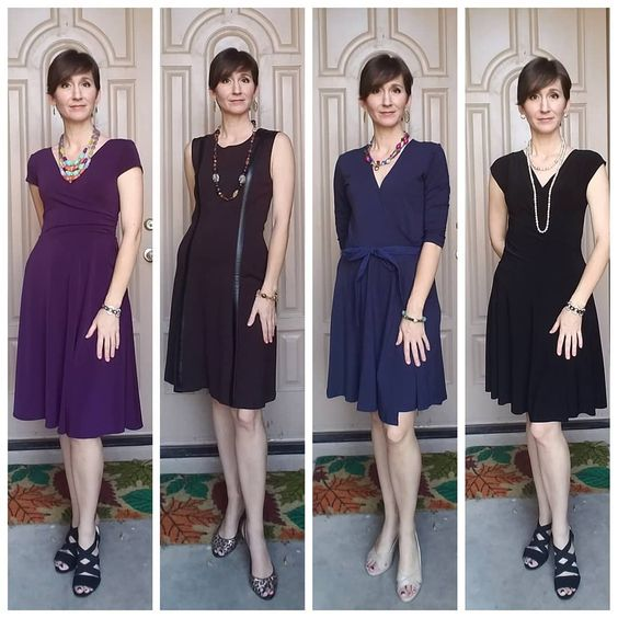 Your LBD doesn't have to be black! Try a dress in blue, brown or a fun color! Tabitha Dumas Signature Color Style