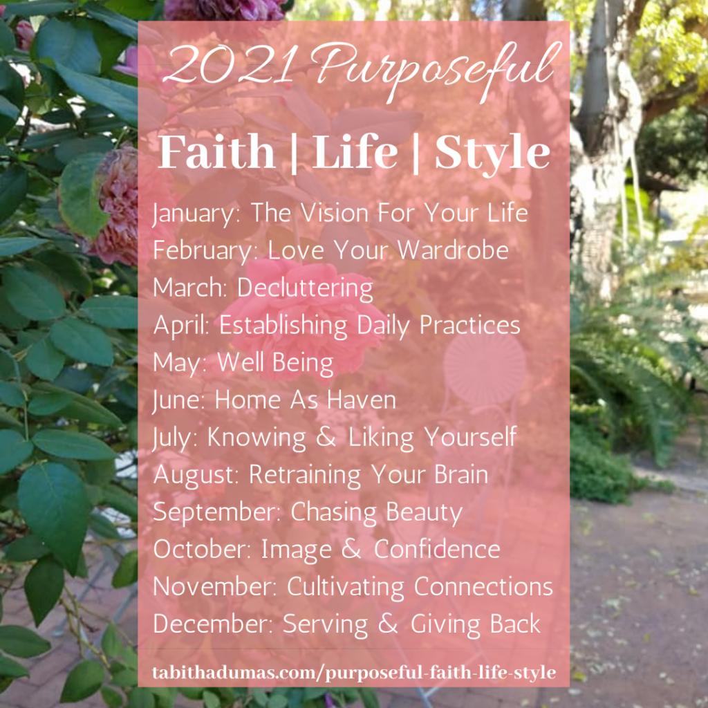 Purposeful Faith Life Style Tabitha Dumas