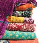 20 ways to use a kantha quilt