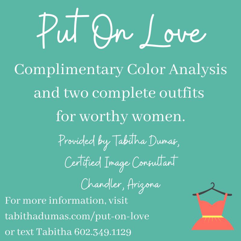 Put On Love tabithadumas.com Tabitha Dumas Image Consultant