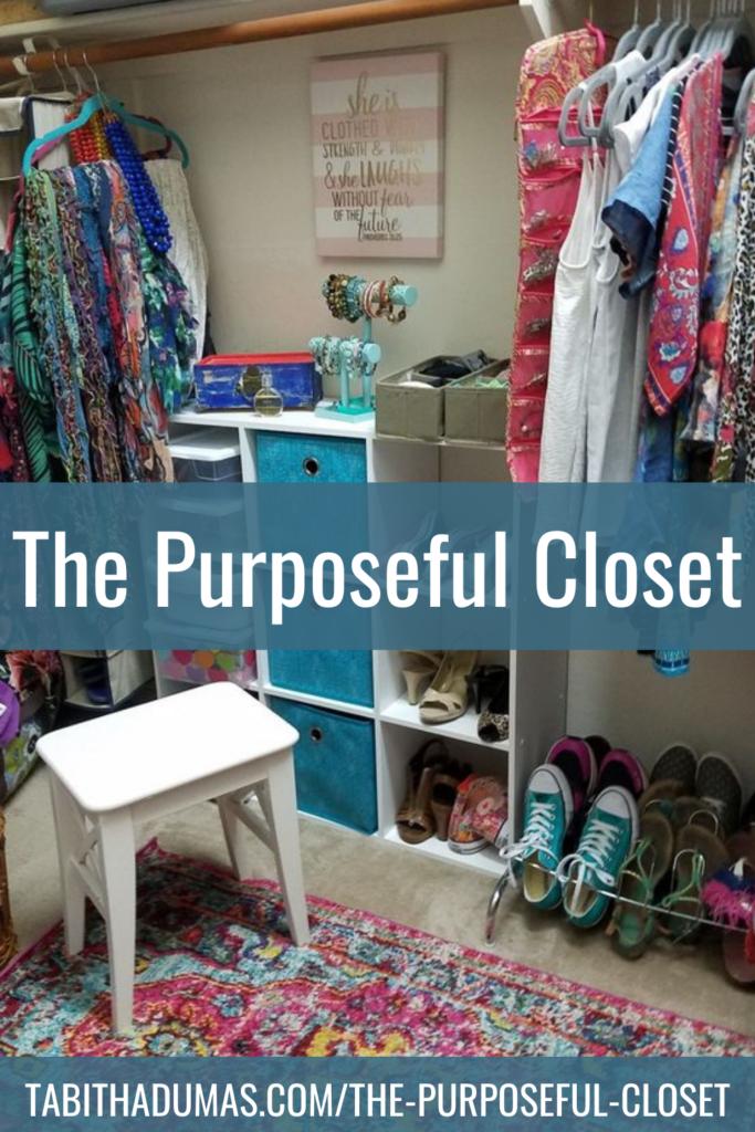 The Purposeful Closet Tabitha Dumas